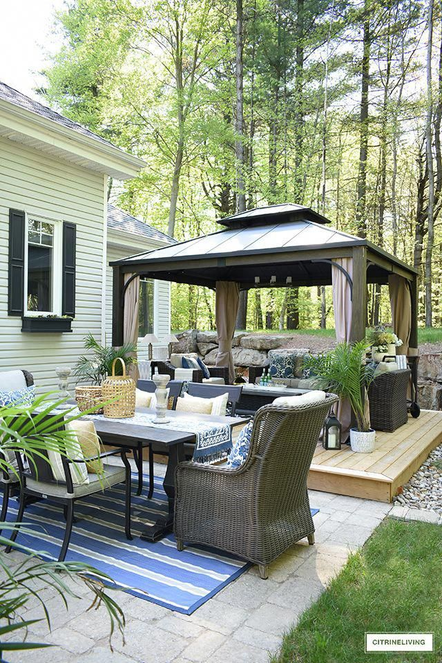 How To Make Your Outdoor Living Space Warm And Welcoming Outdoor