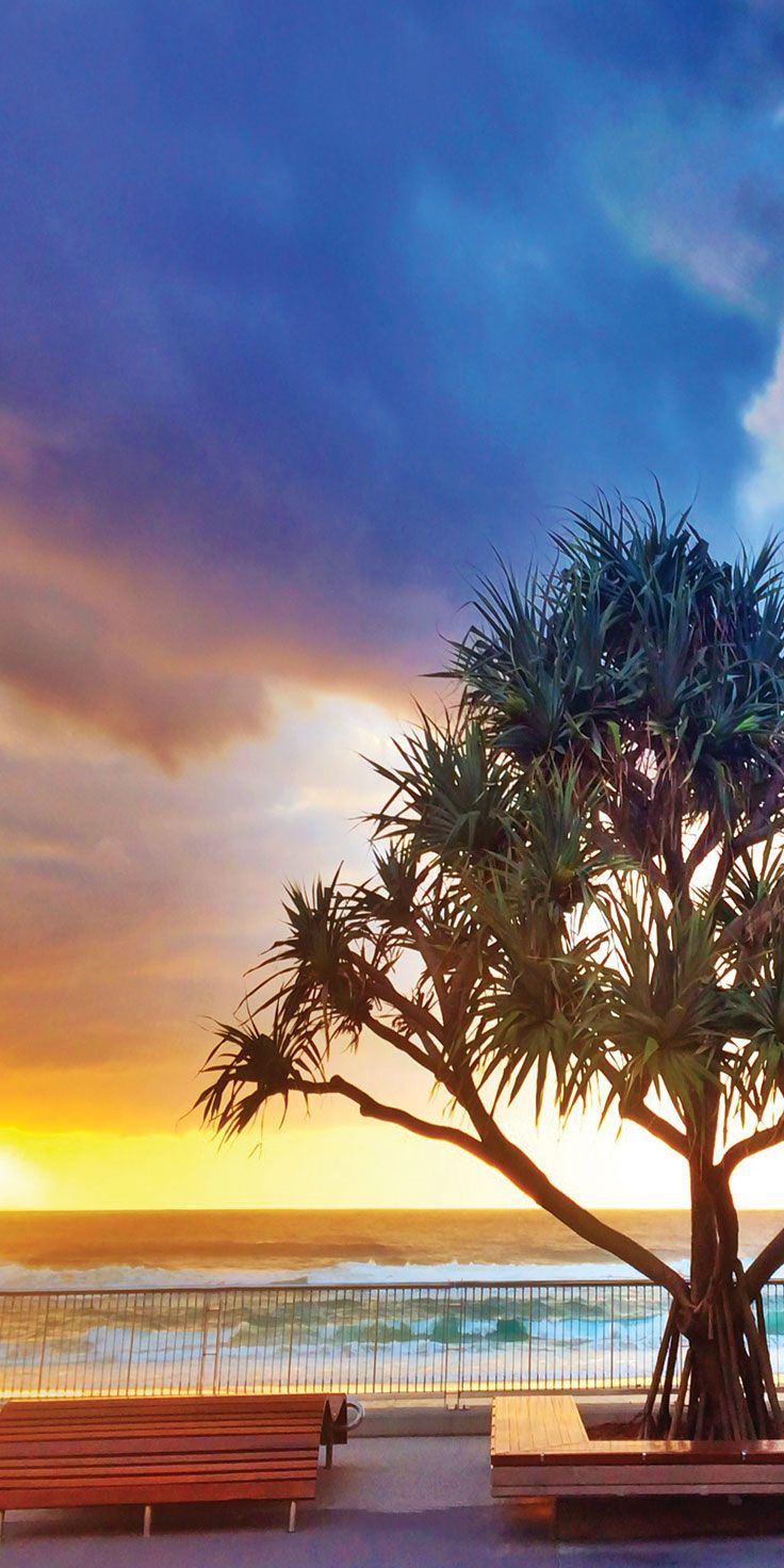 Gold Coast esplanade - by Paul Fleming