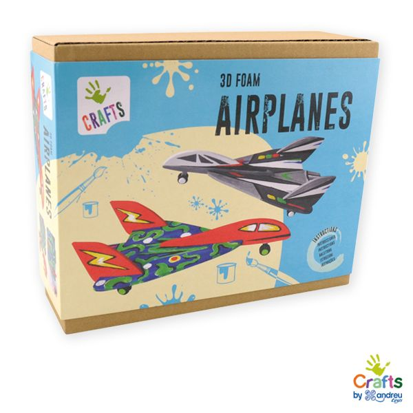 AndreuToys - 3D Foam Airplanes
