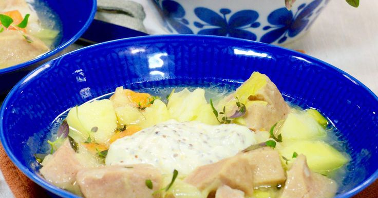 Enkel och god gryta med falukorv, potatis och palsternacka. Extra god med…