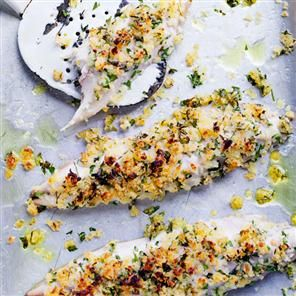 Grilled mackerel with tomato and avocado salsa