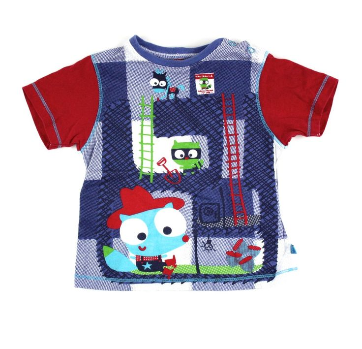 Souris Mini t-shirt, t-shirt for baby boys, Souris Mini at Changeroo, baby t-shirts