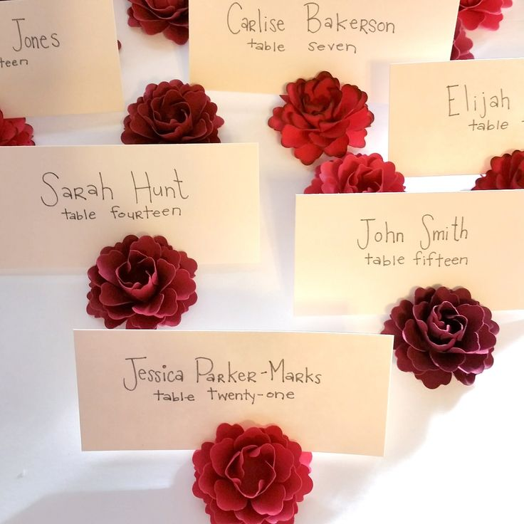These are the perfect place card holders!