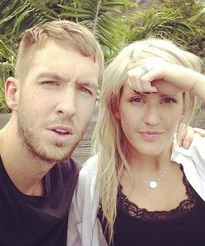 """Calvin Harris featuring Ellie Goulding - """"I Need Your Love"""" (music video premiere) http://www.examiner.com/article/calvin-harris-and-ellie-goulding-get-cozy-i-need-your-love-home-video"""