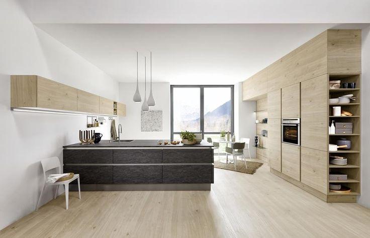 Wyspa kuchenna z granitu - Nolte