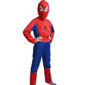 Kids Spiderman Costume -SpiderMan outfit for its little fan, you know it looks cool when he gives you the Spider web attack. -