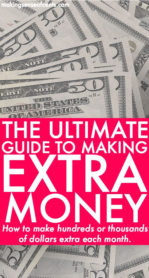 Everything You Need To Know About Making Extra Money