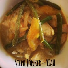 Your Inspiration At Home Chicken Mango Curry. #YIAH #Indian #Curry www.yourinspirationathome.com.au