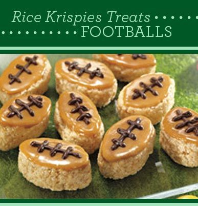 Rice Krispies Treats Foot Barras De Kellogg S Bañadas En Caramelo