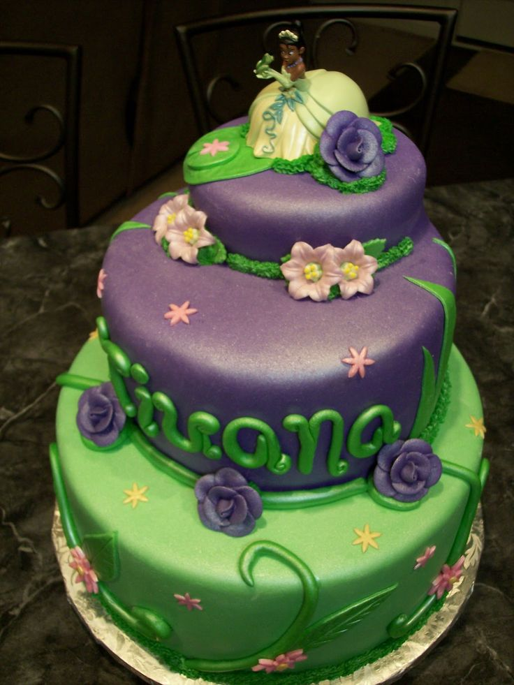 Princess Tiana Cake Decorations | Princess Tiana Cakes – Decoration Ideas