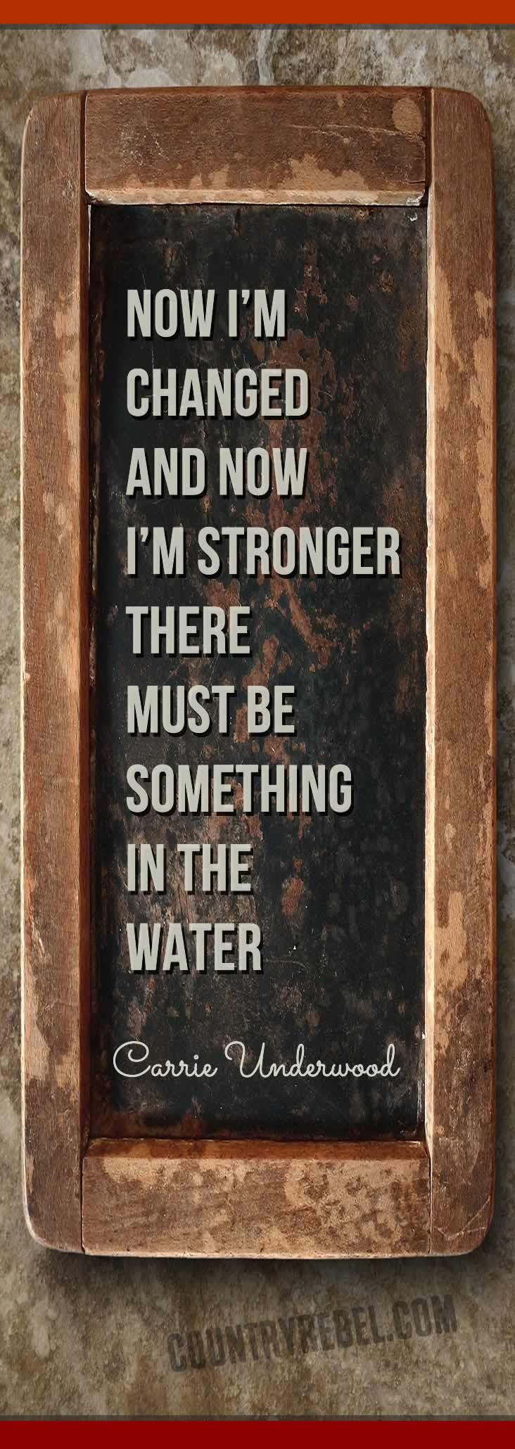 Carrie Underwood Lyrics - Something In the Water | Country Music VIDEO at Country Rebel >> http://countryrebel.com/blogs/videos/18194131-carrie-underwood-something-in-the-water
