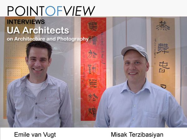 Point of View interviews UA Architects, based in the Netherlands. http://www.architravel.com/pointofview/interview/uarchitects-on-architecture-and-photography/
