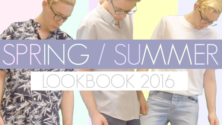 SPRING/SUMMER LOOKBOOK 2016 | feat. MOSTYLE | ♦ JAMES CHRISTOPHER ♦