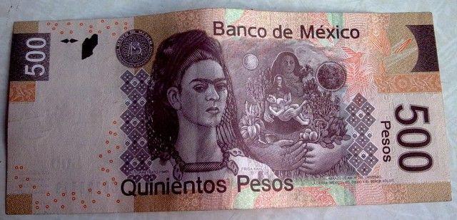 Фрида Кало и Диего Ривера на мексиканских банкнотах - ARTinvestment.RU Forum