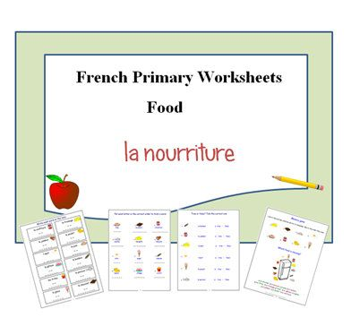 food french worsheets french teacher 39 s resources french learning activities for school and. Black Bedroom Furniture Sets. Home Design Ideas