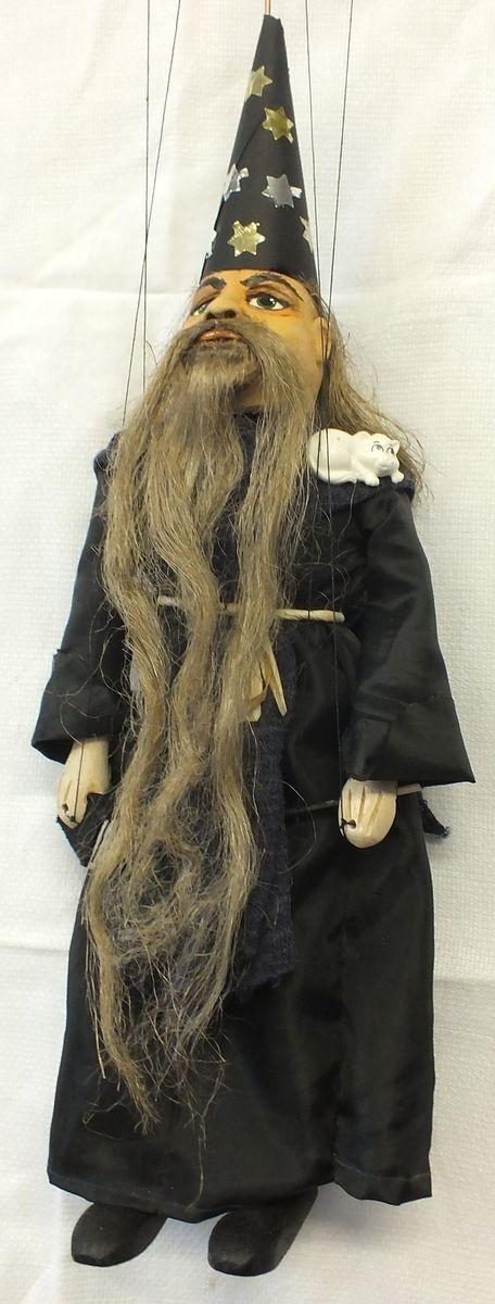 Loutka - Čaroděj, 32 cm