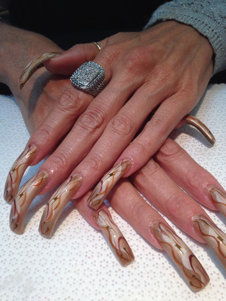 78 Best Extremely Long Nails Images On Pinterest