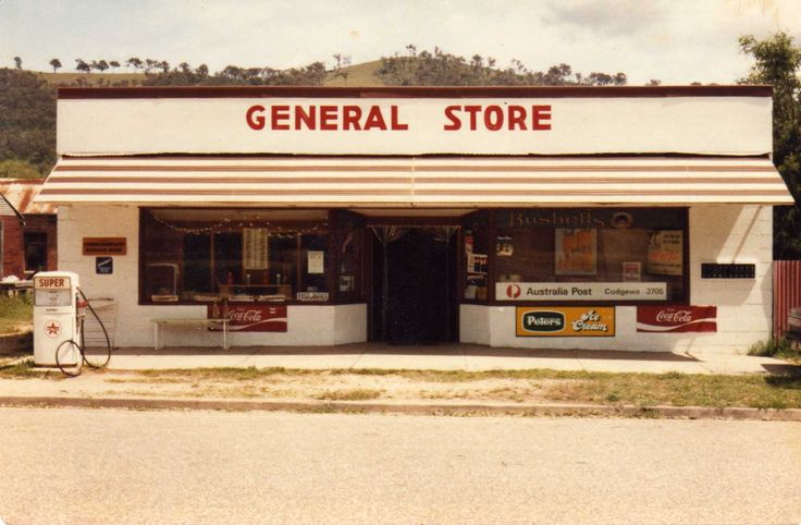 "Not ""The Speckled Hen""...the Cudgewa General Store in the 70's."