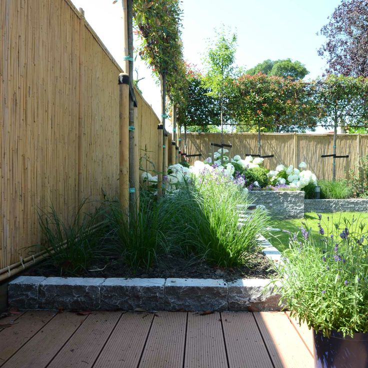 Tuinrenovatie Enkhuizen - Donker & Wit Tuintechniek