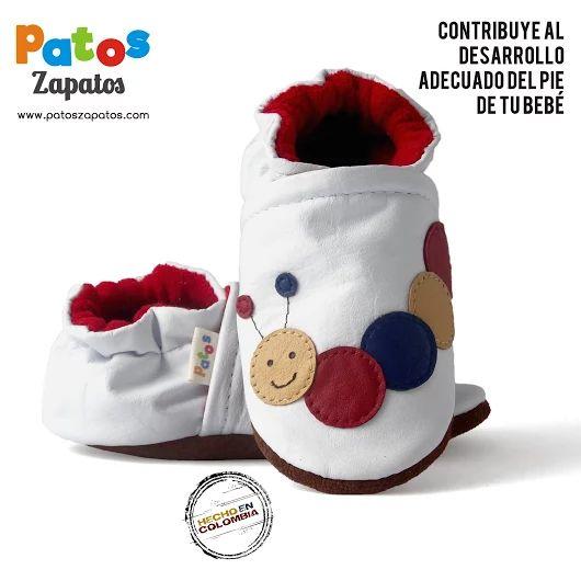 PatosZapatos.com suela blanda para gateo y primeros pasos