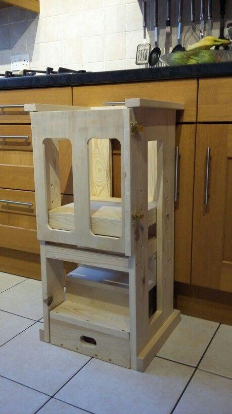 Toddler Helper Tower For Kitchen Or Workshop The Steps