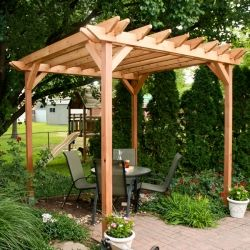 Build your own pergola in a weekend! It's easier than you think!