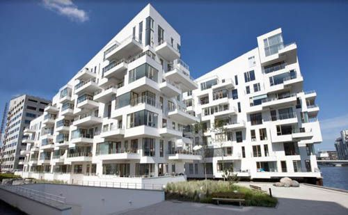 Architectural apartment design by lundgaard and tranberg for Apartment building design ideas