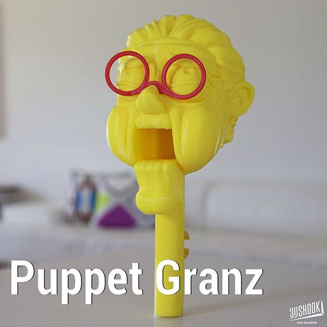 """@3dshook's photo: """"the PUPPET collection - our talking puppet heads...kids and adults love it!!! At 3DShook we remember Home Theatre has """"Home"""" in it. Check us out at www.3dshook.com #3dprint #3dmodels #3dprinted #3dprinter #3dprinting #PrintEverything #makers #makermovement #makersgonnamake #tech #technology #puppet #puppets #puppetshow #puppettheatre #puppeteer #halloween #beast #design #disney #grandma #3dshook"""""""