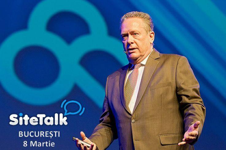 Invitatul special al evenimentului Road to Success - Bucuresti SiteTalk Day , presedintele SiteTalk, d-l Frank Ricketts .