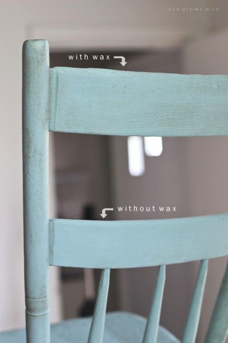 Step-by-step instructions for painting furniture in a gorgeous antique finish! See the best products to use and full tutorial at LoveGrowsWild.com