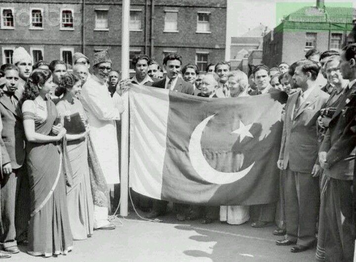 The Flag of Pakistan -1947