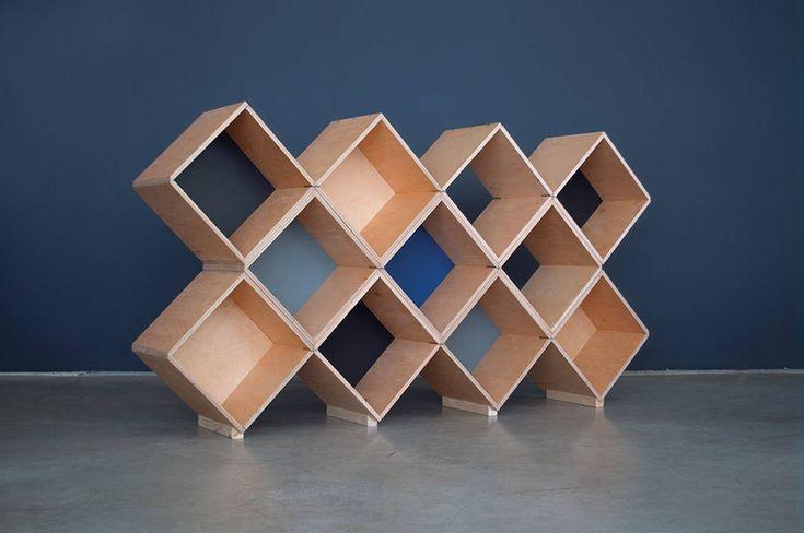 Nomad | No45x Bookcase - 11 modules