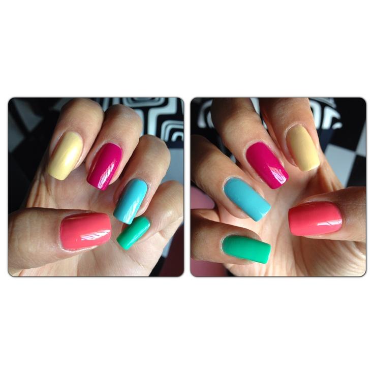 Mis Uñas de Fin de Semana #Colores en #furor