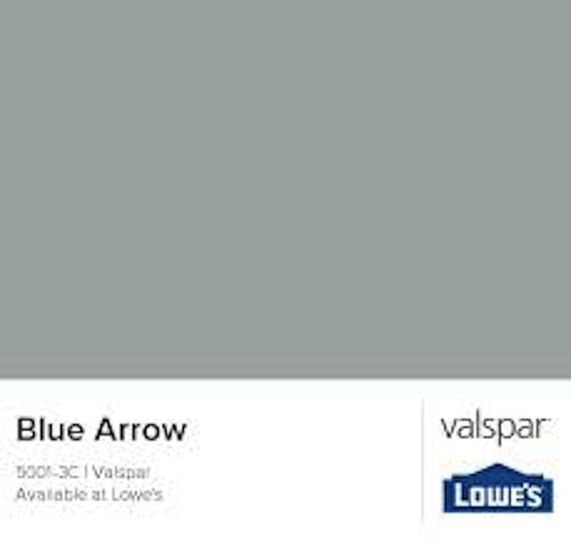 Add Easy Elegance with These 8 Neutral Paint Colors: Blue Arrow 5001-3C - Valspar