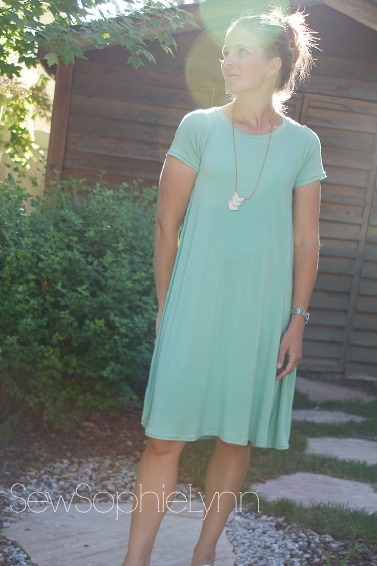 I\u0027ve been after the perfect swing dress pattern all summer. I finally took & Best 25+ Easy dress pattern ideas on Pinterest | Simple dress ... pillowsntoast.com