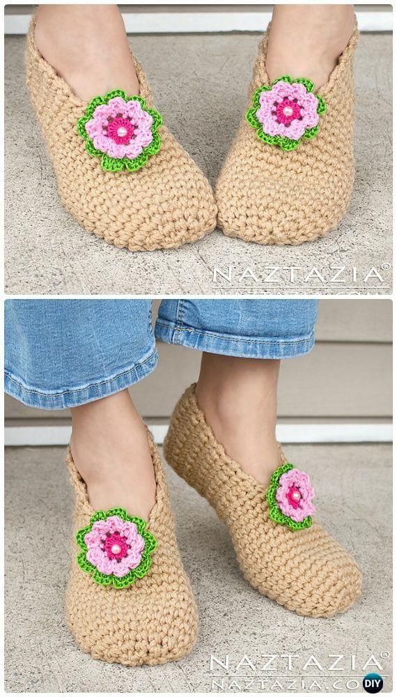 339 best Crochet Boots Slippers images on Pinterest ...