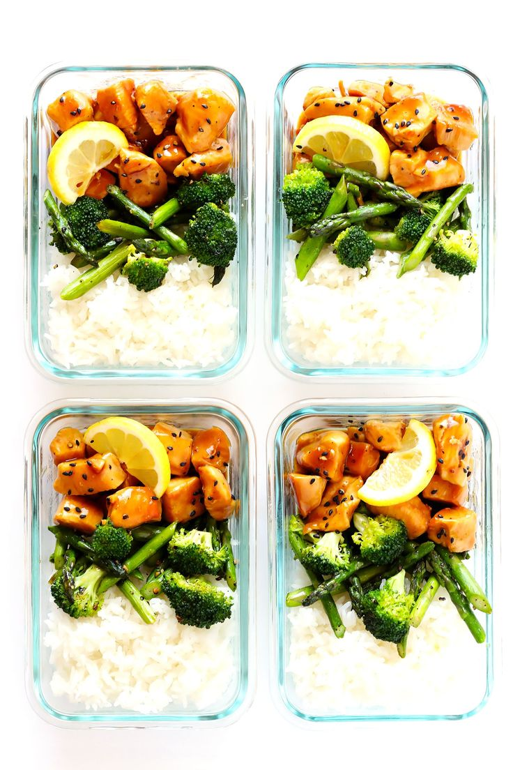 Prep These Chicken & Rice Bowls Now for Lunches All Week — Delicious Links