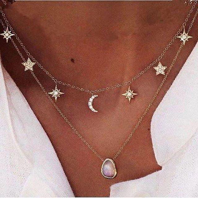 Stella Necklace www.minimalistjewellery.com.au