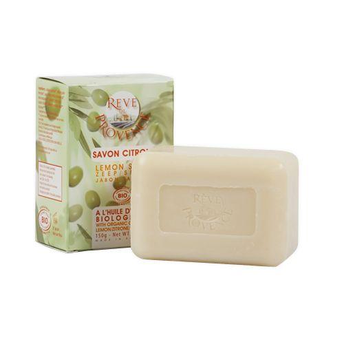 Sapun Bio cu ulei de masline si lamaie Reve de Provence