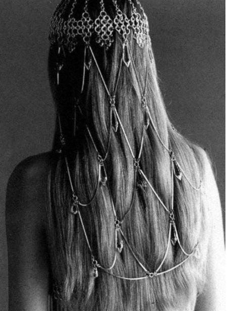 bohemian wedding hair jewellery