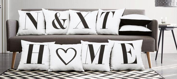Alphabet Cushion From Next Next Home Interiors