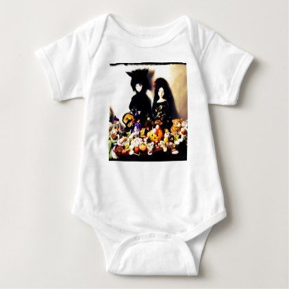 old halloween photo baby bodysuit - Halloween happyhalloween festival party holiday