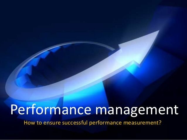 How to ensure successful performance measurement? by Torben Rick via slideshare