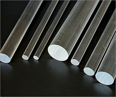 Acrylic Rods, Clear Plastic Rods, Plastic Rods