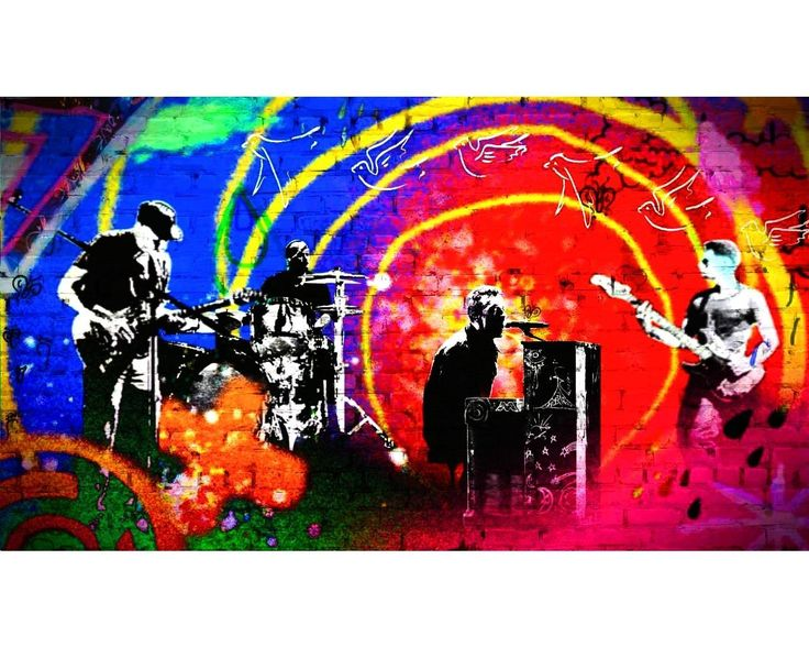 Coldplay Paradise - Coldplay Wallpaper (26033340) - Fanpop