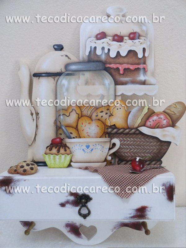 TECO DI CACARECO - SWEET MORNING - - kit em MDF