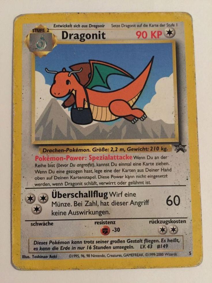 Pokemon Karte Dragonit Promo 5