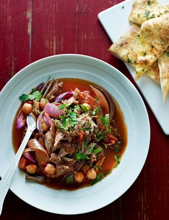 Lamb with tamarind and dates. A wonderfully fragrant casserole dish for Easter.