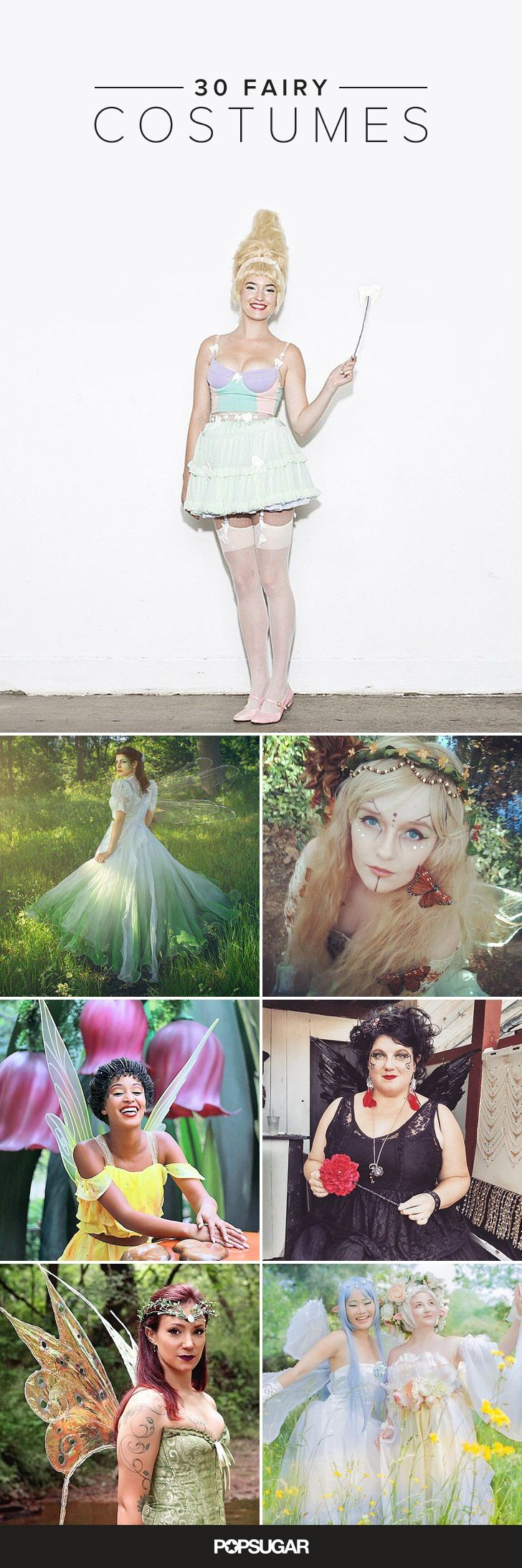 Channel the Magic of Fairy Folk With These 30 Gorgeous Costume Ideas