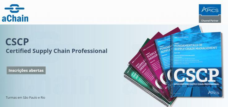 A Certificação CSCP – Certified Supply Chain Professional foi a primeira certificação profissional para a cadeia de abastecimento e engloba o supply chain ponta-a-ponta, dos fornecedores para o cliente final, logística, procurement, sourcing, localização, SRM (Supplier Relationship Management), CRM (Customer Relationship Management), e muito mais.